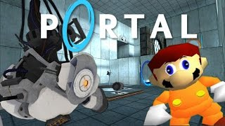 getlinkyoutube.com-Portal M4R10 - If Mario was in...Portal