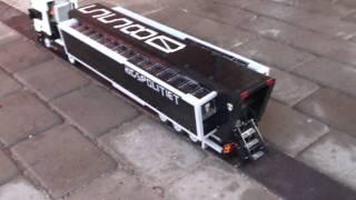 getlinkyoutube.com-Model Team: Scania R340 with Mobile Police HQ