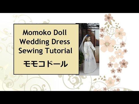 Free Momoko Sewing Pattern and Tutorial: Wedding Dress