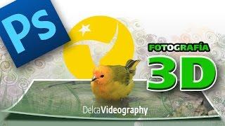 getlinkyoutube.com-EFECTO 3D EN FOTOS PHOTOSHOP tutorial: 3D photo EFFECT!