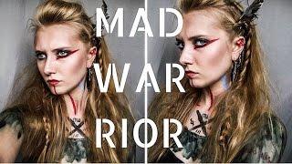 "getlinkyoutube.com-☠""MAD WARRIOR"" W/ 30 SECONDS TO MARS ♂ inspiration (makeup, hair, paint)"