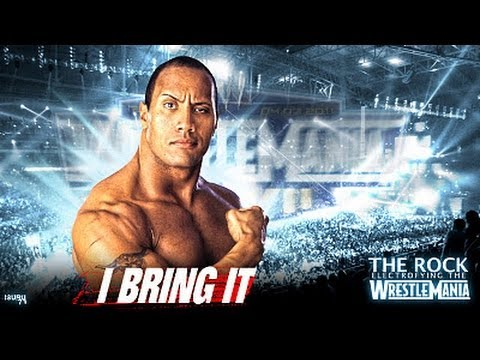 "The Rock Says ""If You Smell , What The Rock Is Cooking"" At WrestleMania XXVII"