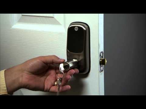 Yale Real Living Touchscreen Lever Lock Installation Dec 2012