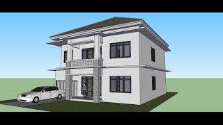 getlinkyoutube.com-Menggambar Rumah dengan Sketchup