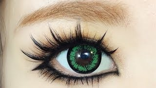 getlinkyoutube.com-How To : Gyaru Eye Makeup