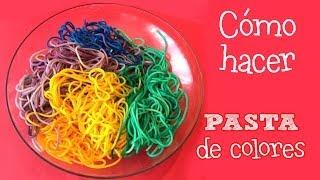 getlinkyoutube.com-Pasta de colores   Minichefs Cocina para niños