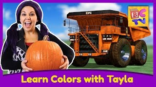 getlinkyoutube.com-Learn Colors with Tea Time with Tayla | Educational Video for Kids by Brain Candy TV
