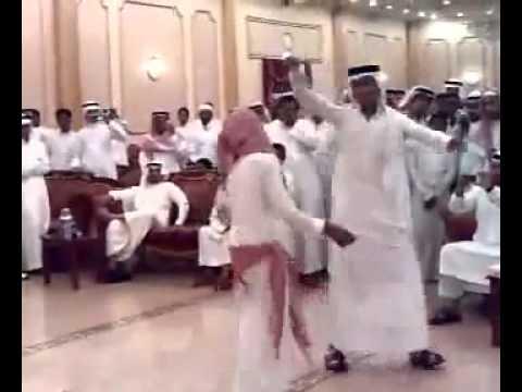 رقص سعودي مصري فله - YouTube.flv