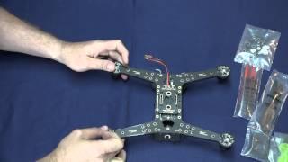 getlinkyoutube.com-Spedix S250 Assemble Video 1 BNF Version (KK2 or cc3d)