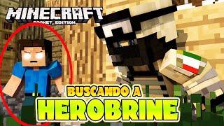 getlinkyoutube.com-SERIE SUPERVIVENCIA . - BUSCANDO A HEROBRINE - Minecraft PE # 02