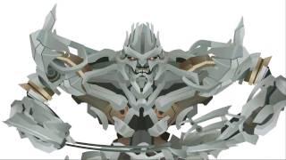 getlinkyoutube.com-MEGATRON Transform - Short Flash Transformers Series