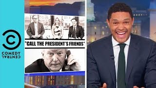Donald Trump's Awkward Phone Call With Fox And Friends   The Daily Show With Trevor Noah
