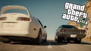 getlinkyoutube.com-GTA 5 - Fast & Furious 7 - Paul Walker Tribute Scene