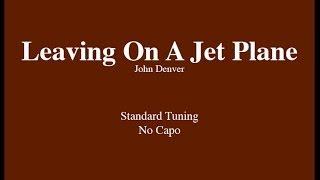 getlinkyoutube.com-Leaving On A Jet Plane - Easy Guitar (Chords and Lyrics)