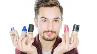 getlinkyoutube.com-Fondotinta LOW COST Preferiti + REVIEW | MrDanielMakeup