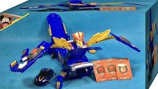 getlinkyoutube.com-메가테릭스 터닝메카드 대형 메카니멀 변신 로봇 자동차 손오공 장난감 리뷰 Turning Mecard Toy