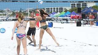 getlinkyoutube.com-Slow Motion Girls Beach Volleyball