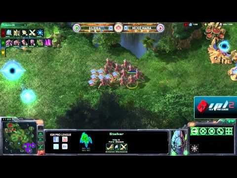 IPL S2 - Winners Round 4 - IdrA vs Mana - Game 2 of 5