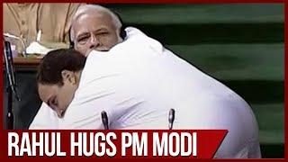 No-Confidence motion: PM Modi mocks Rahul Gandhi's bear hug in Lok Sabha
