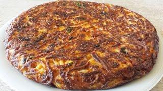 getlinkyoutube.com-Frittata di spaghetti - Le Video ricette di Lara