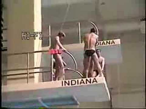 Indiana Diving Bloopers