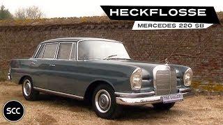 getlinkyoutube.com-MERCEDES-BENZ W111 220 SB Heckflosse 1964 - Modest test drive - Engine sound | SCC TV