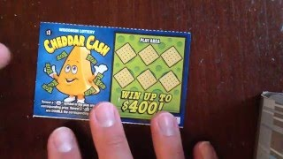 getlinkyoutube.com-$1 Cheddar Cash - Wisconsin Lottery - Scratcher