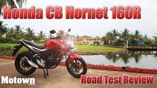 getlinkyoutube.com-Honda CB Hornet 160R | Road Test Review | Motown India