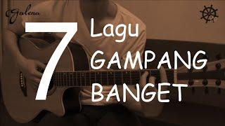 getlinkyoutube.com-7 Lagu GAMPANG BANGET Belajar Gitar