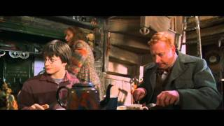 Harry Potter and the Chamber of Secrets - Harry's first time at the Weasley's home (HD)