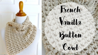 getlinkyoutube.com-How To Crochet the French Vanilla Button Cowl, Episode 261