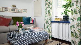 getlinkyoutube.com-A Cozy TV Room With Tons Of Charm