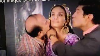 """getlinkyoutube.com-Dominique Sexy in """"El Beah Romancy"""" -قبلة حسن حسني وباسم السمرا لدومينيك في فيلم """"البيه رومانسي 3"""