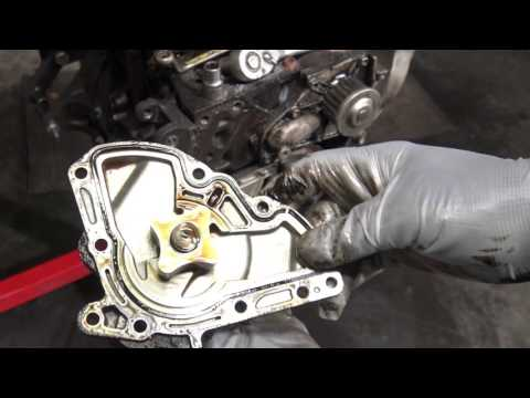 How to replace oil pump Toyota 5S-FE engine