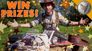 Coyote's Treasure Hunt - WIN Adventure Gear and Prizes!