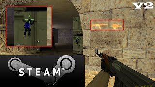 Wall Hack Indectectable Para Counter Strike 1.6 STEAM V2 |2017|