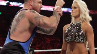 getlinkyoutube.com-Raw: Santino Marella & Tamina vs. Ted DiBiase & Maryse