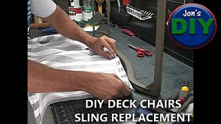 getlinkyoutube.com-Renew Your Patio/Deck Furniture (Sling Chair Cover Replacement)