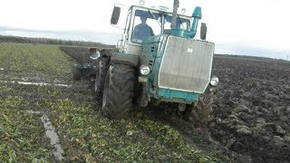 getlinkyoutube.com-T-150K and very difficult ploughing