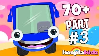 getlinkyoutube.com-Wheels On The Bus | Part 3 | Plus More Nursery Rhymes And Songs by HooplaKidz | 70 + Mins