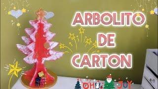 getlinkyoutube.com-ÁRBOL DE NAVIDAD HECHO EN CARTÓN