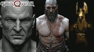 God of War (cómo se hizo): Facciones - Alfheim explicado - ¿Altura de Kratos? | SQS