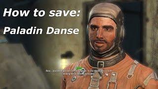 getlinkyoutube.com-Fallout 4 How to save Paladin Danse
