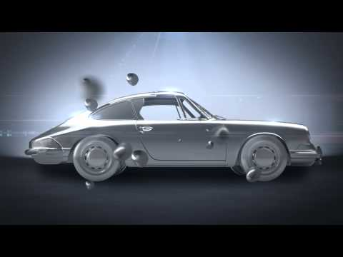 2012 Porsche 911 Carrera CGI animation promo