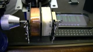 Repairing burnt out transformer. Oscilloscope repair.