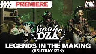 Smoke DZA - Legends In The Making (Ashtray Pt. 2) (feat. Curren$y & Wiz Khalifa)