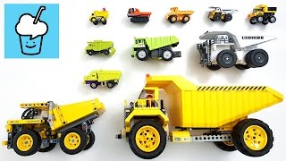 getlinkyoutube.com-Dump Truck for children kids and more with tomica トミカ lego technic transformer toy story