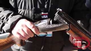 getlinkyoutube.com-Benelli 828U Over & Under Shotgun new at SHOT Show 2015
