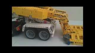 getlinkyoutube.com-LEGO PF 6x4 Truck with 4 Achs Lowloader