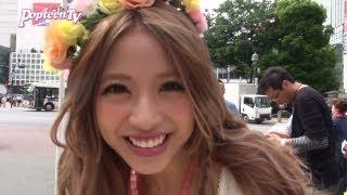 getlinkyoutube.com-くみっきーが撮影!JKインタビュー!